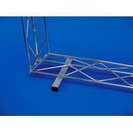 Podlahový držák čtyřhranná trubka pro systém Gitter-Leicht