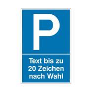 Parkovací a vyhrazovací štítky z plastu