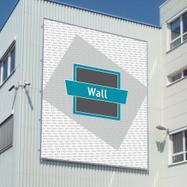 """Zásuvný systém bannerových rámů - """"Wall"""", hliník"""