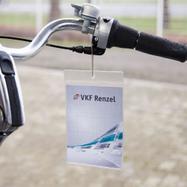 Standardní kapsa na cenovky z měkkého PVC na jeden vklad