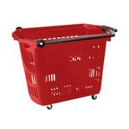 """Košík na kolečkách """"Big"""", nákupní košík o objemu 42 l, tahací"""
