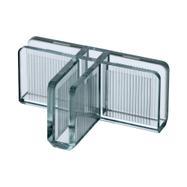 """Nasouvací spojka """"Clear"""" pro stavebnicové vitríny"""