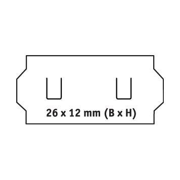 Štítky pro etiketovací kleště, 1-řádkové