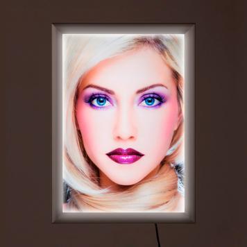"""Světelný LED rám """"Simple"""", jednostranný"""