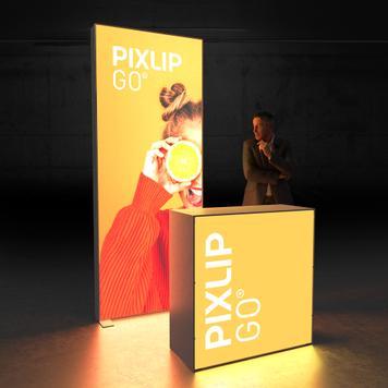 """Pixlip GO  LED veletržní stánek  """"Stand HL10"""""""