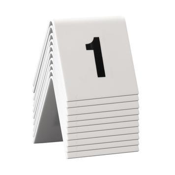 Čísla na stůl 1-60