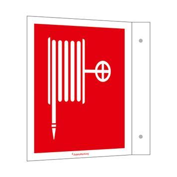 Prostředky k hašení požáru - vlajkový štítek