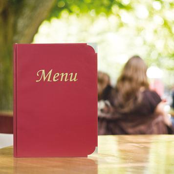 """Obal na menu """"Basic"""""""