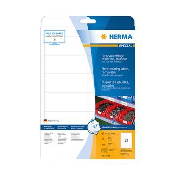 Fóliové etikety odolné proti počasí, Herma 4572