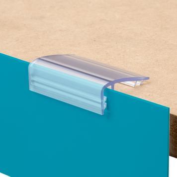 Držák poutače pro regálové police o síle až 25 mm