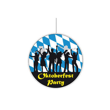 """Stropní poutač """"Oktoberfest Party"""""""