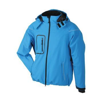 Pánská zimní softshellová bunda