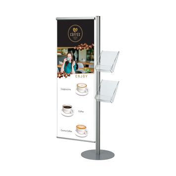 "Banner pro stojan na letáky ""Snap Quattro"""