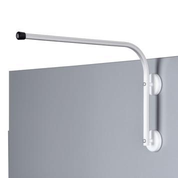 Hliníkový držák regálového poutače s magnety