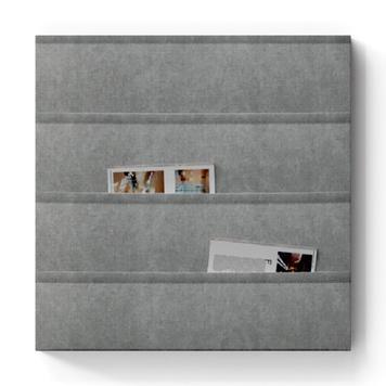 FlexiDeco-Functional / kapsy, šedé
