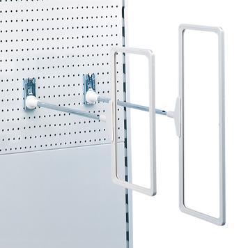Regálový poutač pro děrované stěny