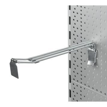 Dvojitý hák do děrované stěny pro velké zatížení