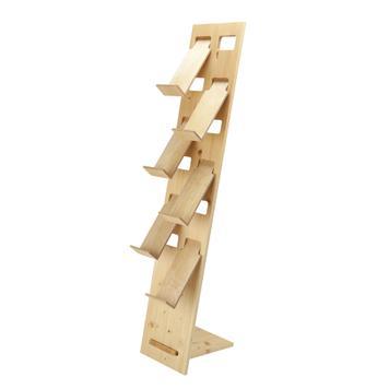 """Stojan na letáky """"H3"""" dřevěný"""