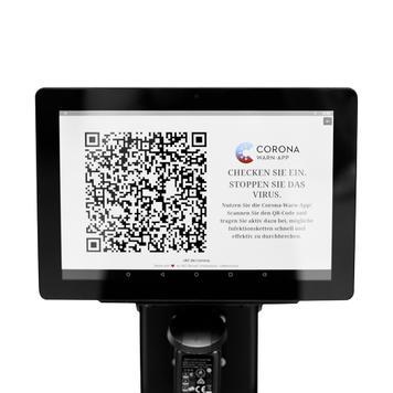 Interaktivní POS tablet pro bariérové stojany