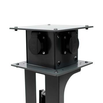 Vícenásobná zásuvka pro bariérový stojan