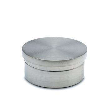 Koncová krytka pro trubky, zinek-protectan efekt ušlechtilé oceli, plochá
