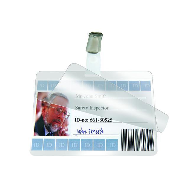 """Kovový klip pro """"ID-karty"""""""