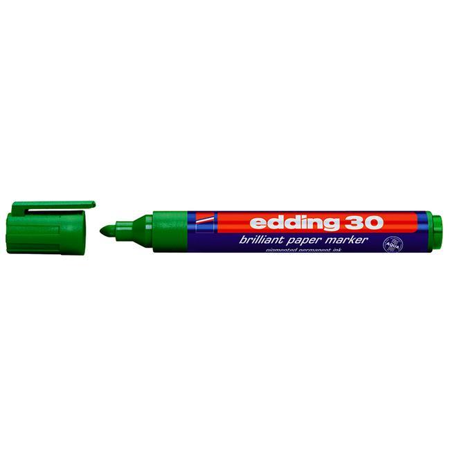 Popisovač Edding 30 Brilliant na papír