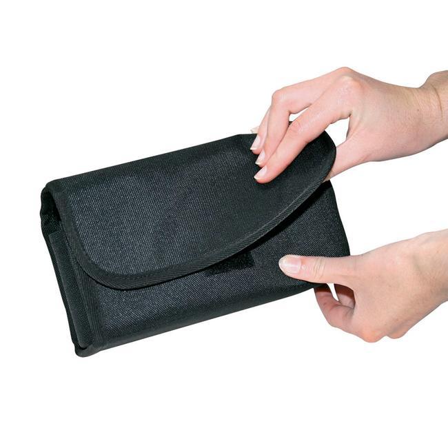 Peněženka s průhlednou kapsou na mince