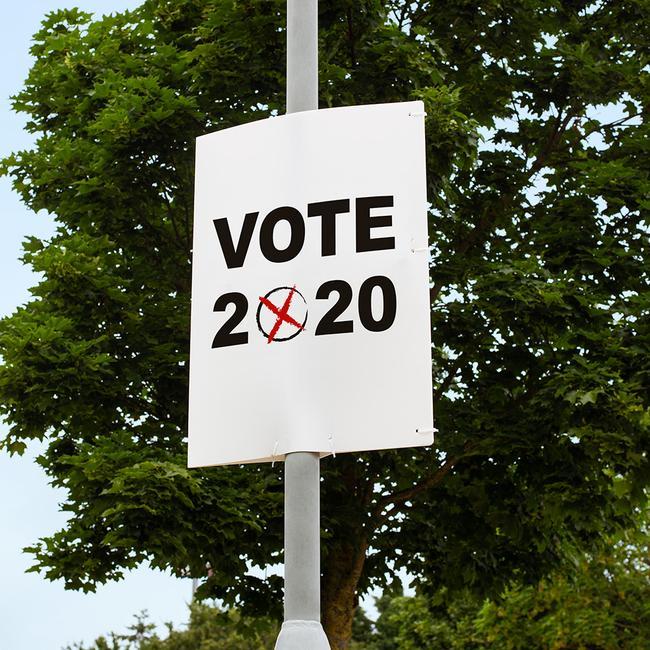 Volební plakát vč. tisku