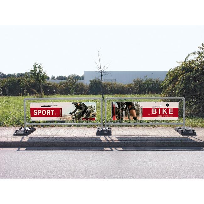 """Zásuvný systém ocelových bannerových rámů """"Sports"""""""