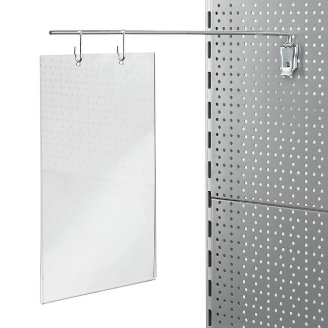 Kapsa z akryl. skla pro držák do děrované stěny