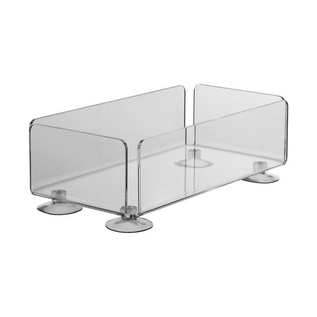 Akrylátový box s přísavkami