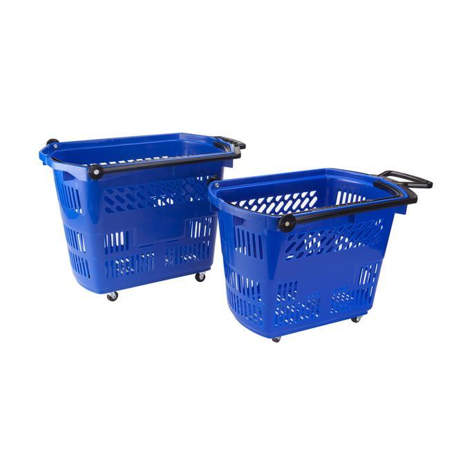 """Košík na kolečkách """"Small"""", nákupní košík o objemu 33 l, tahací"""
