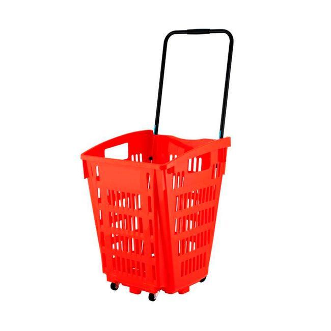 Nákupní košíky na kolečkách 52 l