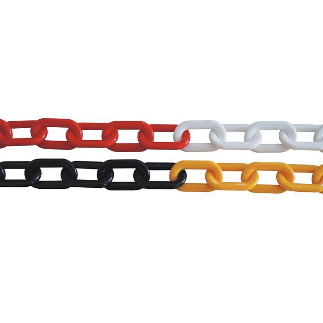 Plastový řetěz o síle 9 mm, různé barvy