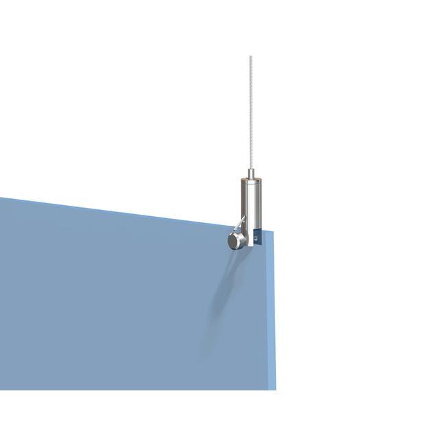 Držák lankového systému pro desky o různých tloušťkách