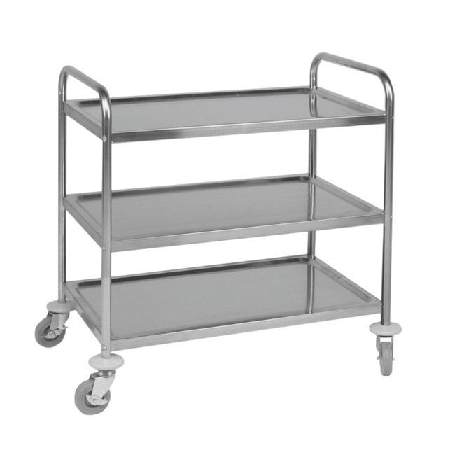 Servírovací vozík / odklízecí vozík se 3 poličkami