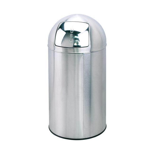 Odpadkový koš se stlačitelným víkem