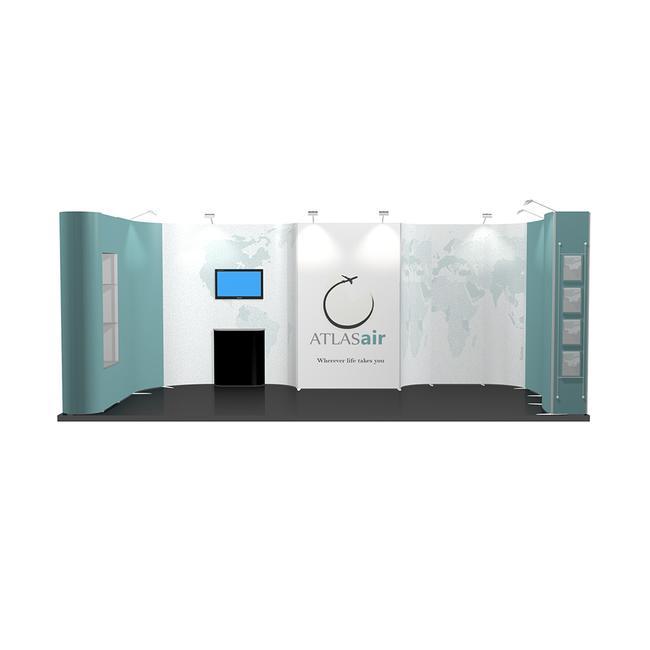 Veletržní stánek ISOframe 3 x 6 m