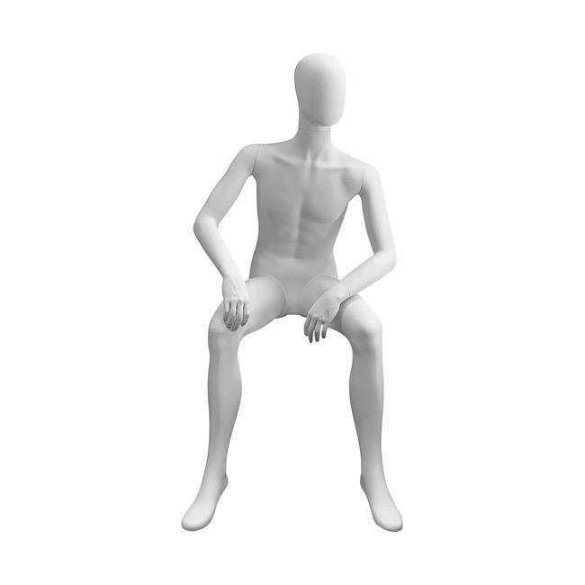 """Figurína do výlohy """"Magic"""" pánský model sedící"""