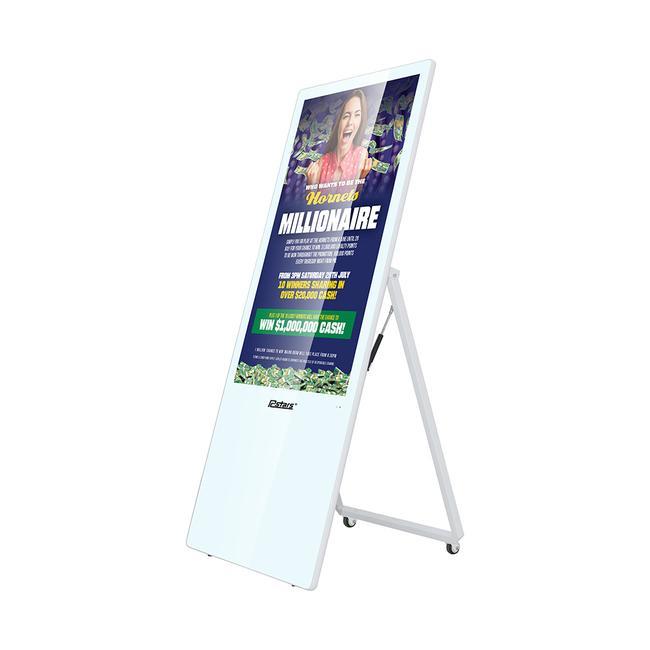 """Digitální reklamní poutač """"A-Board"""" II"""