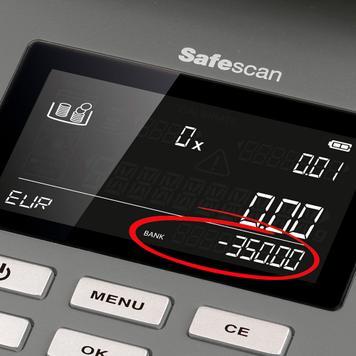 Safescan 6165 peněžní váha