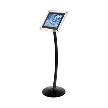 Akrylátový informační stojan s LED osvětlením