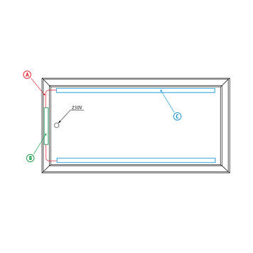 "bannergear® Stand ""Mobil LED"", jednostranný"