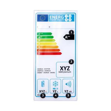 Ochranná kapsa na energetické štítky s lepícími body