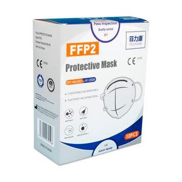 Respirátor FFP2, balení: 10 kusů