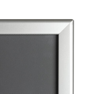 Hliníkový kliprám profil 32 mm, zkosené rohy