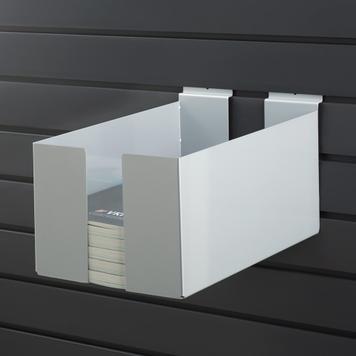 FlexiSlot® - prezentační box, nastavitelná šířka, k uložení katalogů a prospektů