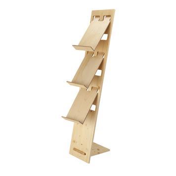 """Stojan na katalogy """"H2"""" dřevěný"""