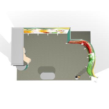 Veletržní stánek ISOframe 4 x 6 m